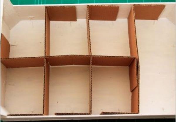 Como hacer un botiquin con una caja de carton imagui - Como hacer un armario de carton ...