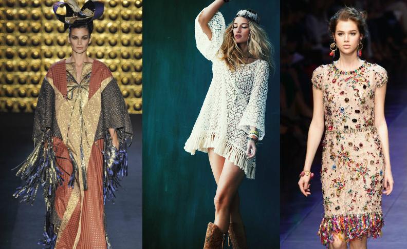 Tendencia de moda casual ropa hippie chic moderna for Imagenes boho chic