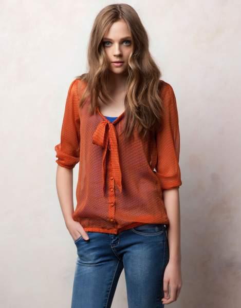 También puede elegir de poliester/algodón, poliester % y spandex / poliéster modas blusas , así como de artículos de stock, servicio de oem modas blusas Y si modas blusas es bordado, llano teñido o impreso.