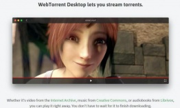WebTorrent Desktop: reproductor de archivos torrent en streaming