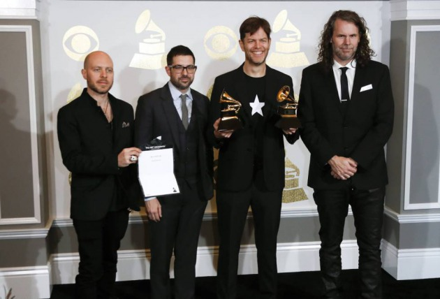 Jason Lindner, Mark Guiliana, Donny McCaslin y Tim Lefebvre, la banda que grabó 'Blackstar' con David Bowie.