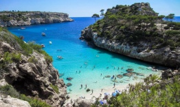 Playas escondidas en Mallorca