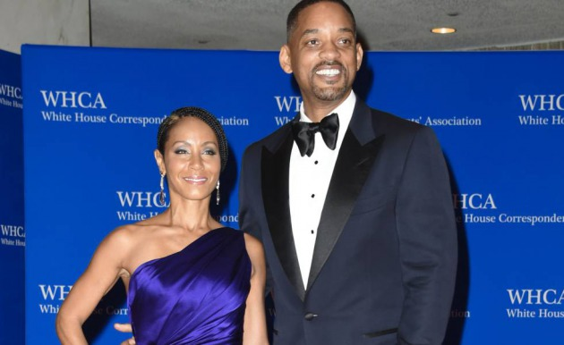 Los actores Will Smith y Jada Pinkett, en Washington, en 2016.