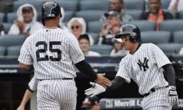 Yankees le pegan a los Marlins