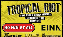 [Noticia] Cartel de la segunda edición del Tropical Riot